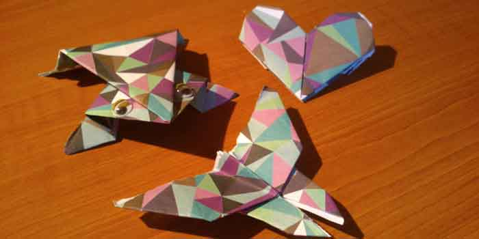 origami ong